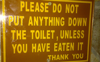Bathroom Humor Girly Camping