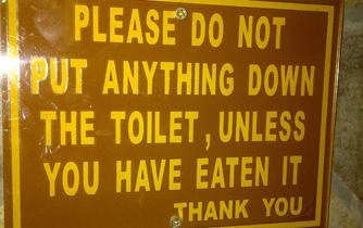 bathroom humor
