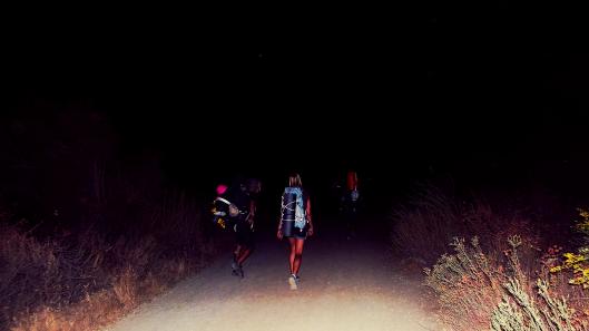 San Gabriel mountains night hike