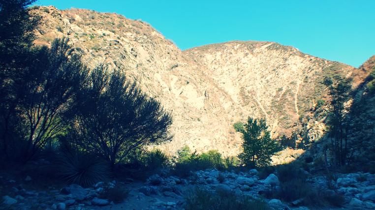 hiking the narrows