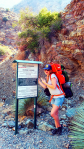 hiking the narrows me