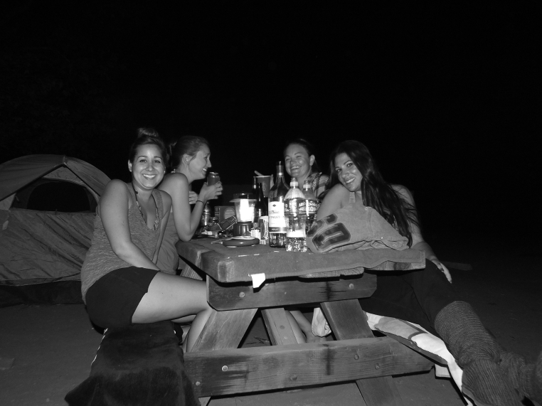san onofre- picnic table