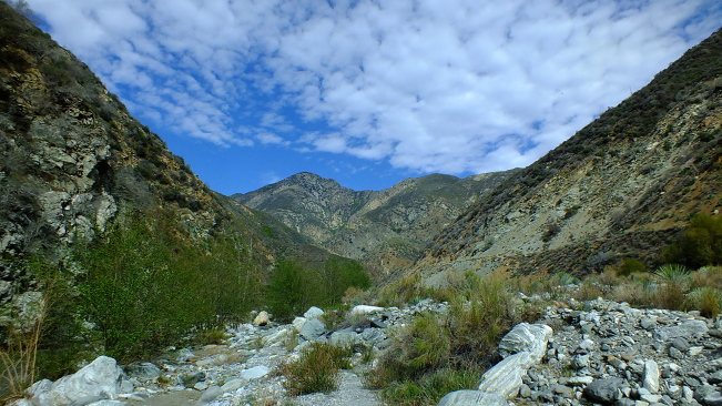 backpacking angeles national forest
