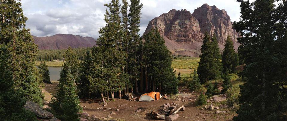 Guest post camping in northern utah girly camping for Fish lake utah camping