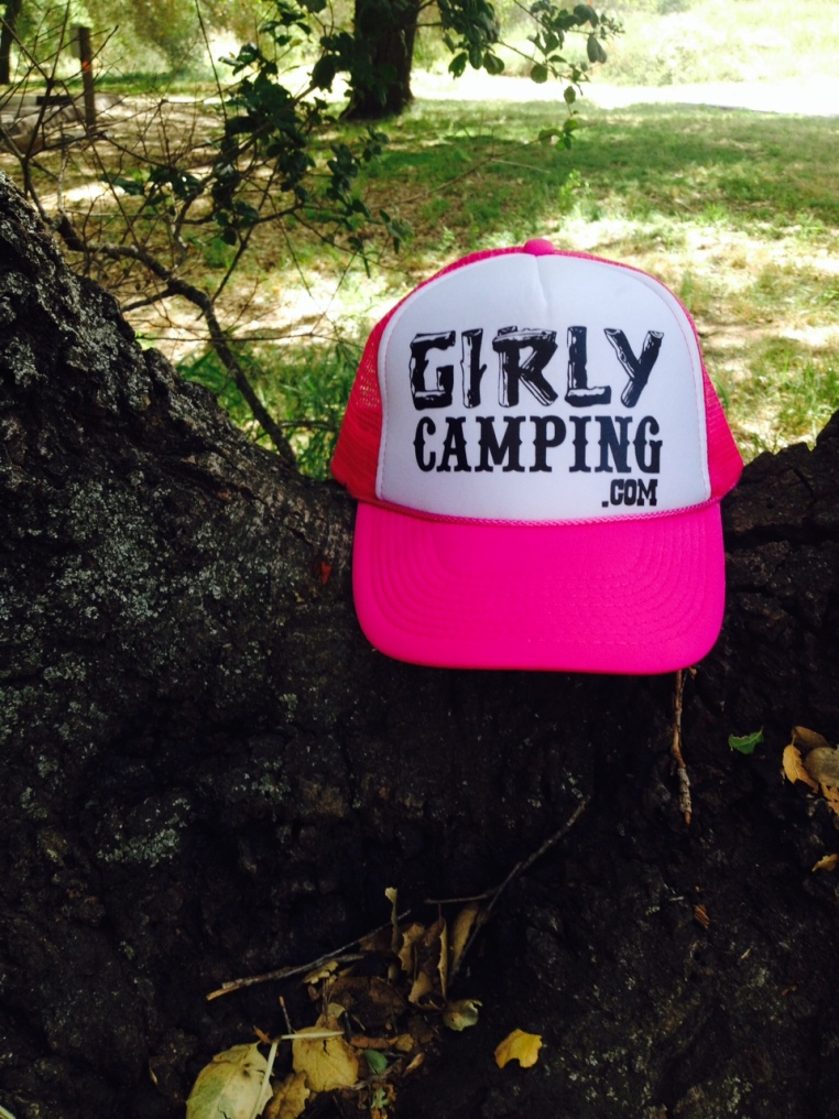 Girly Camping hat