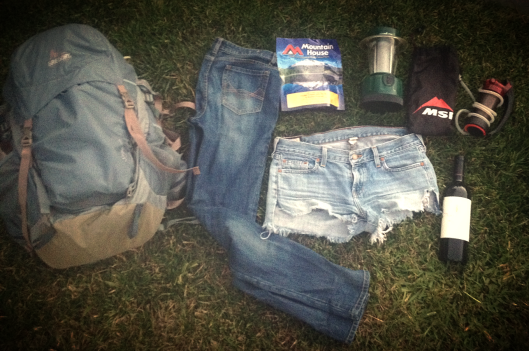 take a load off- 5 items i ditched from my pack