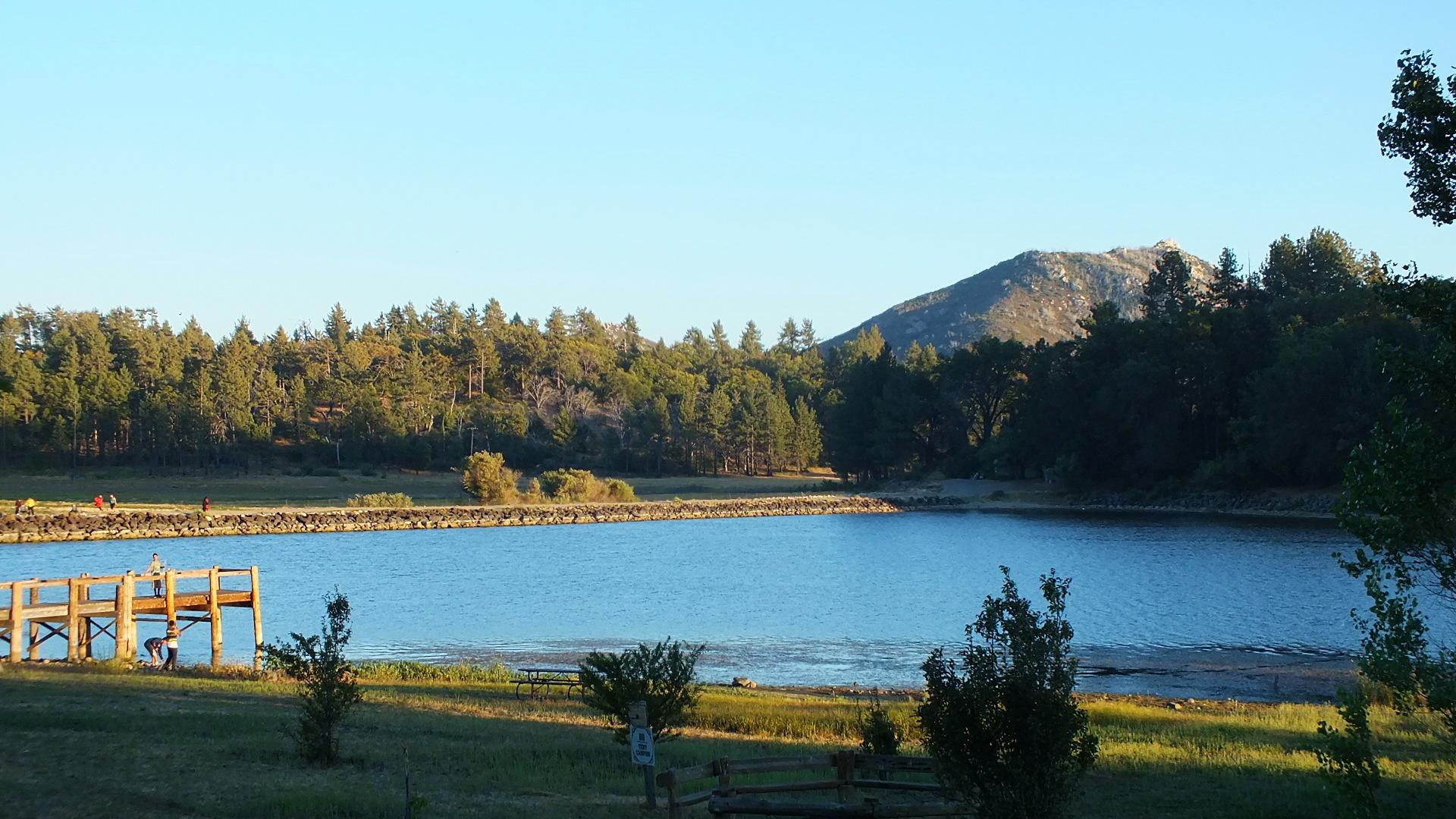 Lake Cuyamaca Girly Camping