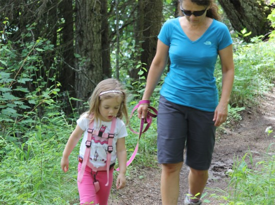Harnessing Childrens Natural Ways Of >> Review Let S Go Kiddo Kid S Harness Girly Camping