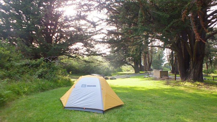 highlight camping road trip
